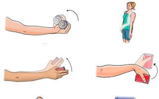 Упражнения после перелома лучевой кости: ЛФК и осложнения