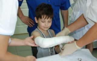 Перелом диафиза плечевой кости: тела, закрытый