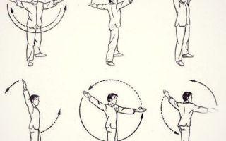 Упражнения при болях в плечевом суставе: ЛФК