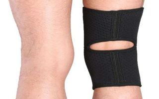 Фиксатор для колена после травмы: наколенники и накладка