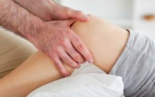 Травма колена при падении: лечение в домашних условиях