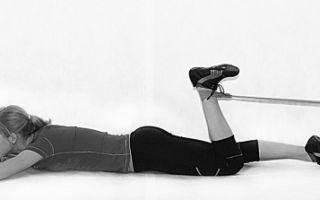 Упражнения для колена после травмы: физкультура для разработки сустава