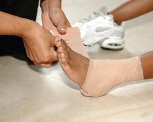Вывих лодыжки: лечение в домашних условиях, что делать, дома