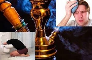 Болит голова от кальяна: что делать, может ли, на следующий день