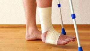 Реабилитация после перелома лодыжки со смещением после операции