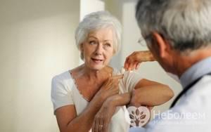 Ушиб плеча при падении: диагностика и лечение в домашних условиях
