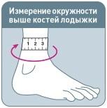 Фиксатор для голеностопа при растяжении связок: бандаж