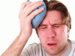 Болит голова после удара: по лицу, ударился, что делать