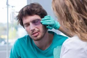 Как быстро избавиться от синяка под глазом: на лице, средства