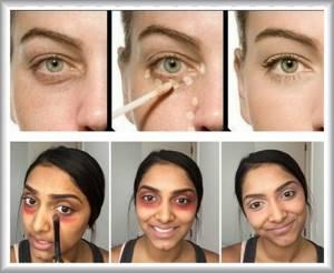 Как замазать синяк на лице: замаскировать, маскировка