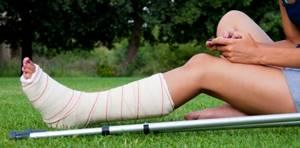 Перелом пяточной кости: сколько заживает пятка, ортез, как долго