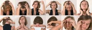Массаж от головной боли:в голове, как делать, массировать