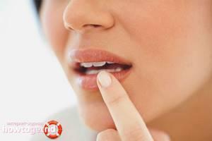 Немеют губы: причина и что делать в домашних условиях