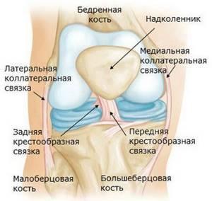 Разрыв крестообразной связки колена: лечение без операции