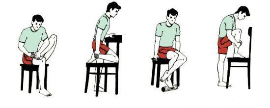 Упражнения при переломе голени: ЛФК, после операции