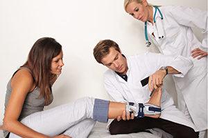 Фиксатор на ногу после перелома