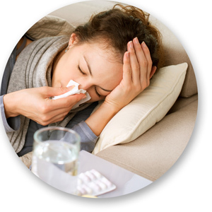 Головная боль при гриппе: чем снять, что делать, почему болит