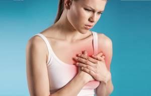 Немеет грудь: правая, болит, почему онемела