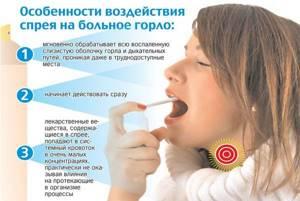 Обезболивающий спрей для горла: при ангине, с обезболивающим эффектом